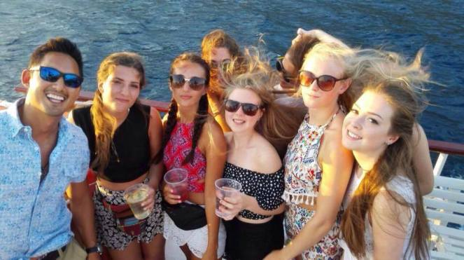 Hedonist Sunset Boat Party
